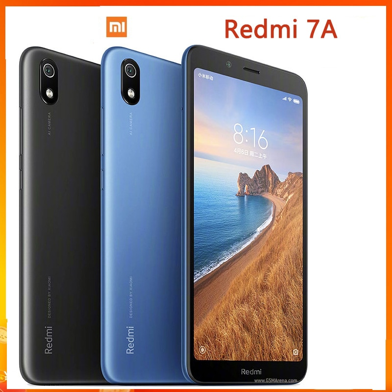 Смартфон Xiaomi Redmi 7A, 3 Гб + 32 ГБ, экран 5,45 дюйма, аккумулятор 4000 мАч, процессор Snapdragon 439