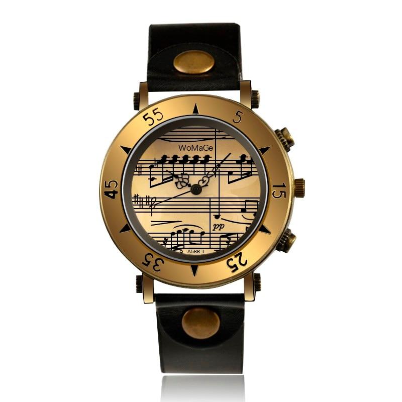Женские часы, модные женские часы с музыкальными нотами, женские часы, кварцевые наручные часы, женские часы