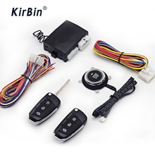 12V car alarm security protection ignition system use Start stop button to starting for car central