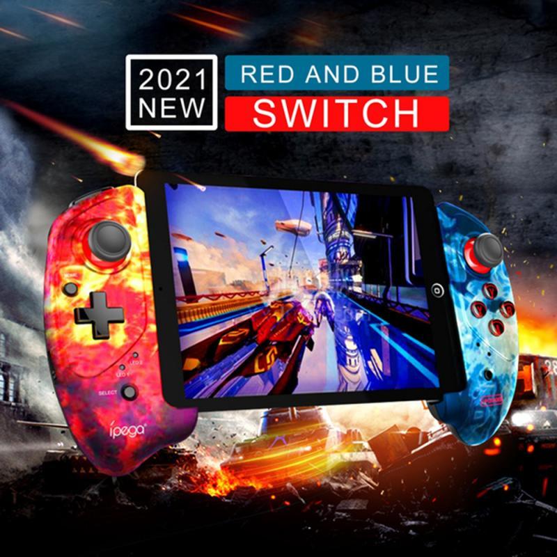 Геймпад PG-9083A/B Bluetooth Беспроводной джойстик PUBG триггеры игровой коврик Android IOS для ТВ коробка пульта Планшетные ПК контроллер