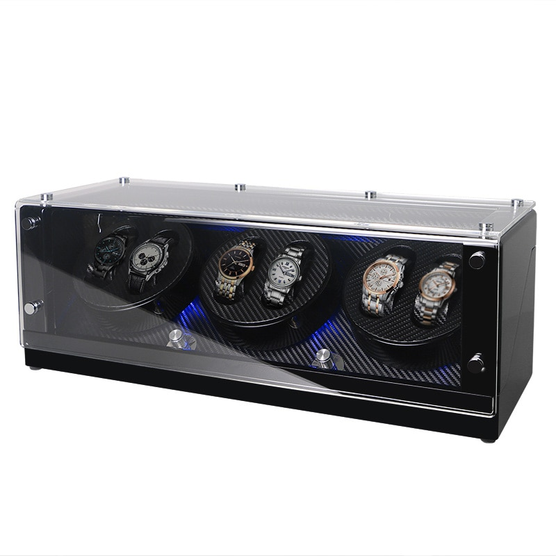Watch Winder Box Mechanical Automatic Watch Display For Luxury Men Watches