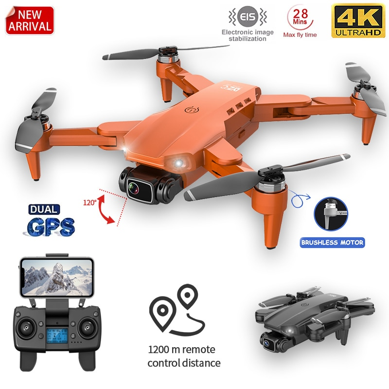 L900PRO GPS Drone 4K Dual HD Camera Professional Aerial Photography Brushless Motor Foldable Quadcop