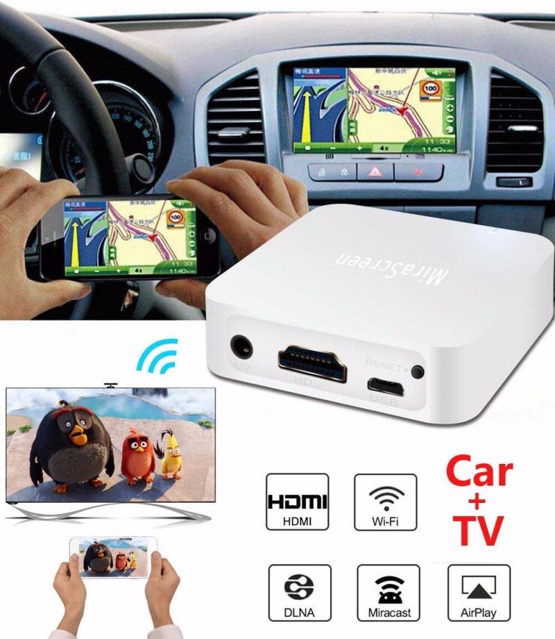 New MiraScreen X7 Car Multimedia Display Device Dongle WiFi 1080P Mirror Box Airplay Car Multimedia