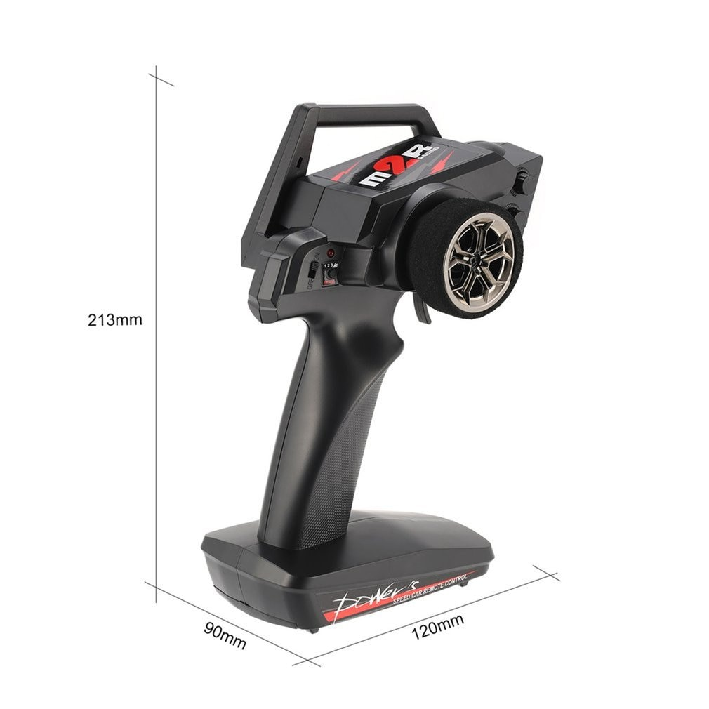 2.4G 2CH Transmitter Remote Control Radio Spare Parts for RC Car 1/12 Wltoys 12429 4WD Crawler Right Hand Mode enlarge