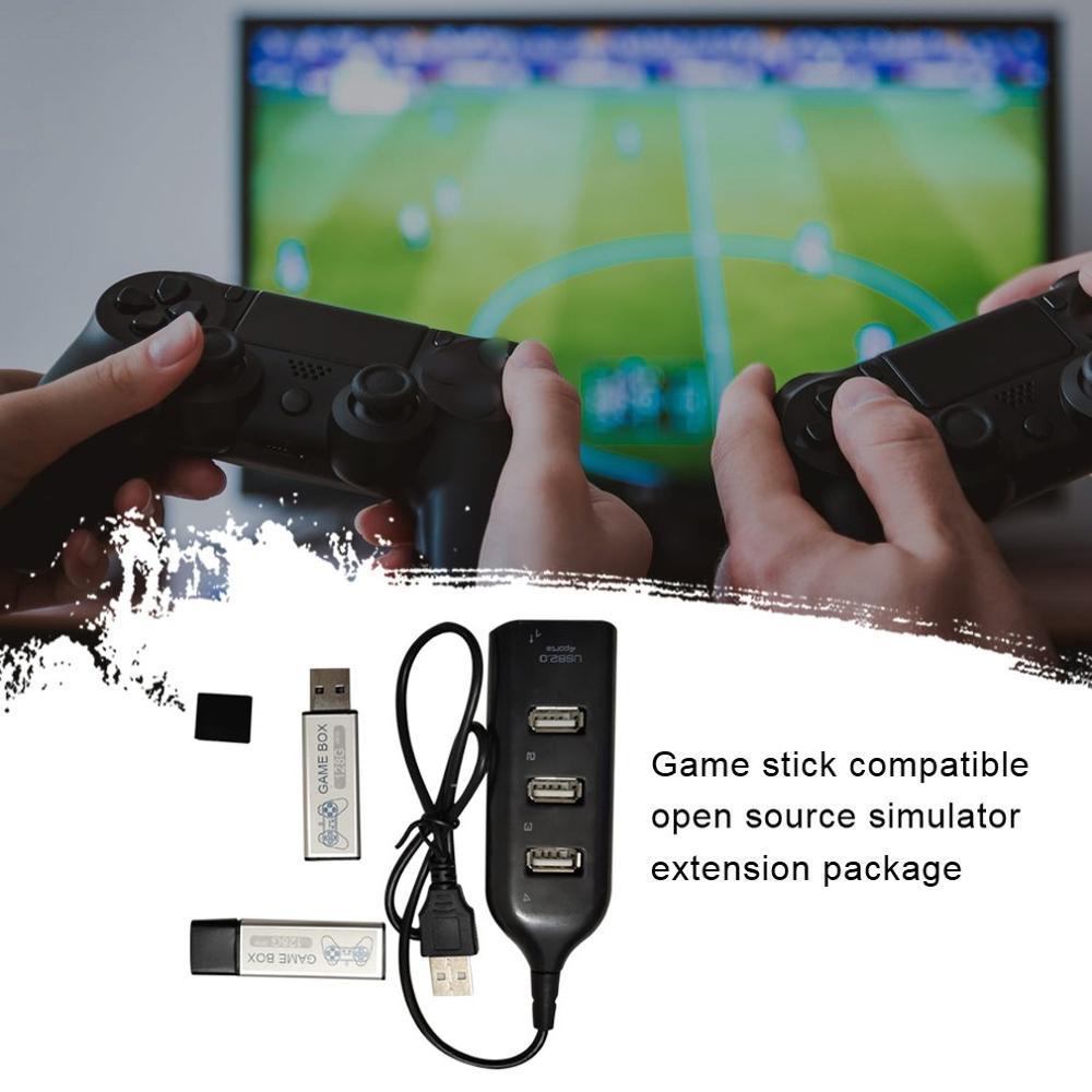 2019 neue Wahre Blau Mini Spiel Stick 128G Kampf PackGames für PlayStation Klassische Spiele & Zubehör für 7000 spiel