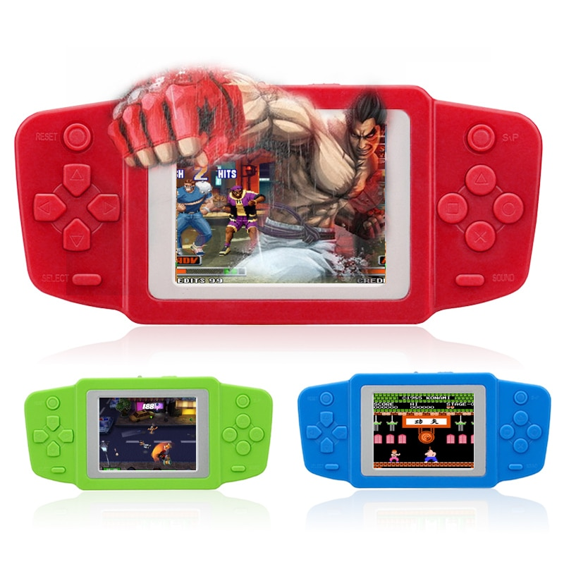 game console 2.5'' Ultra-Thin Portable Video Game Player 268 8 bit NES Classic Games gamepad children's Puzzle game video
