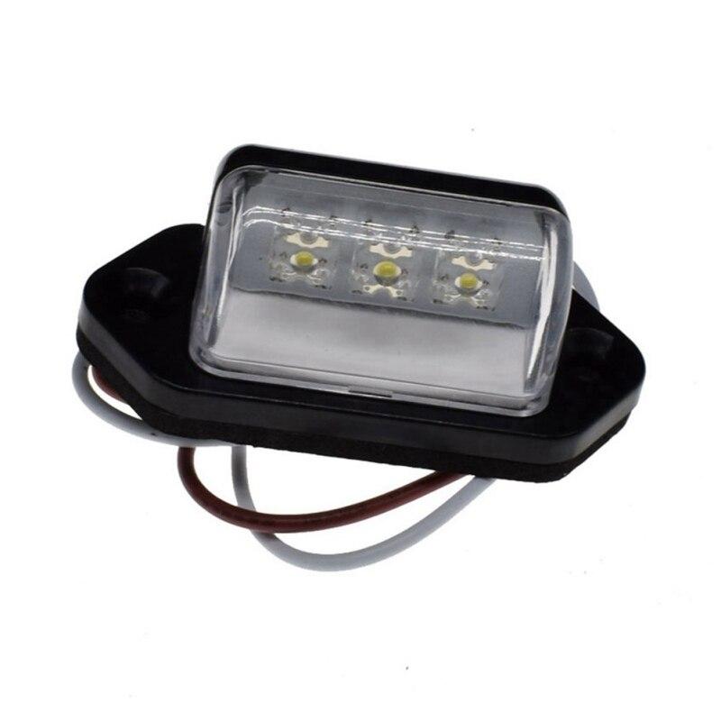 LEDCar License Plate Light Side Light Signal Tail Light Energy Saving Brightness Edge Light For Trailer Truck Auto