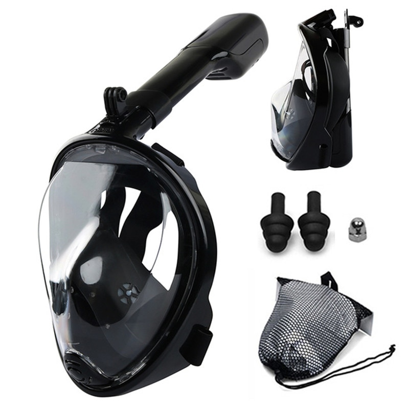 Diving Mask Swimming Scuba Mask Underwater Anti Fog Waterproof Full Face Snorkeling Mask Adult Kids Snorkel Swimming Equipment deepgear nearsighted diving mask for adult clear pc myopia lens scuba mask short sighted divers scuba mask top snorkel gears