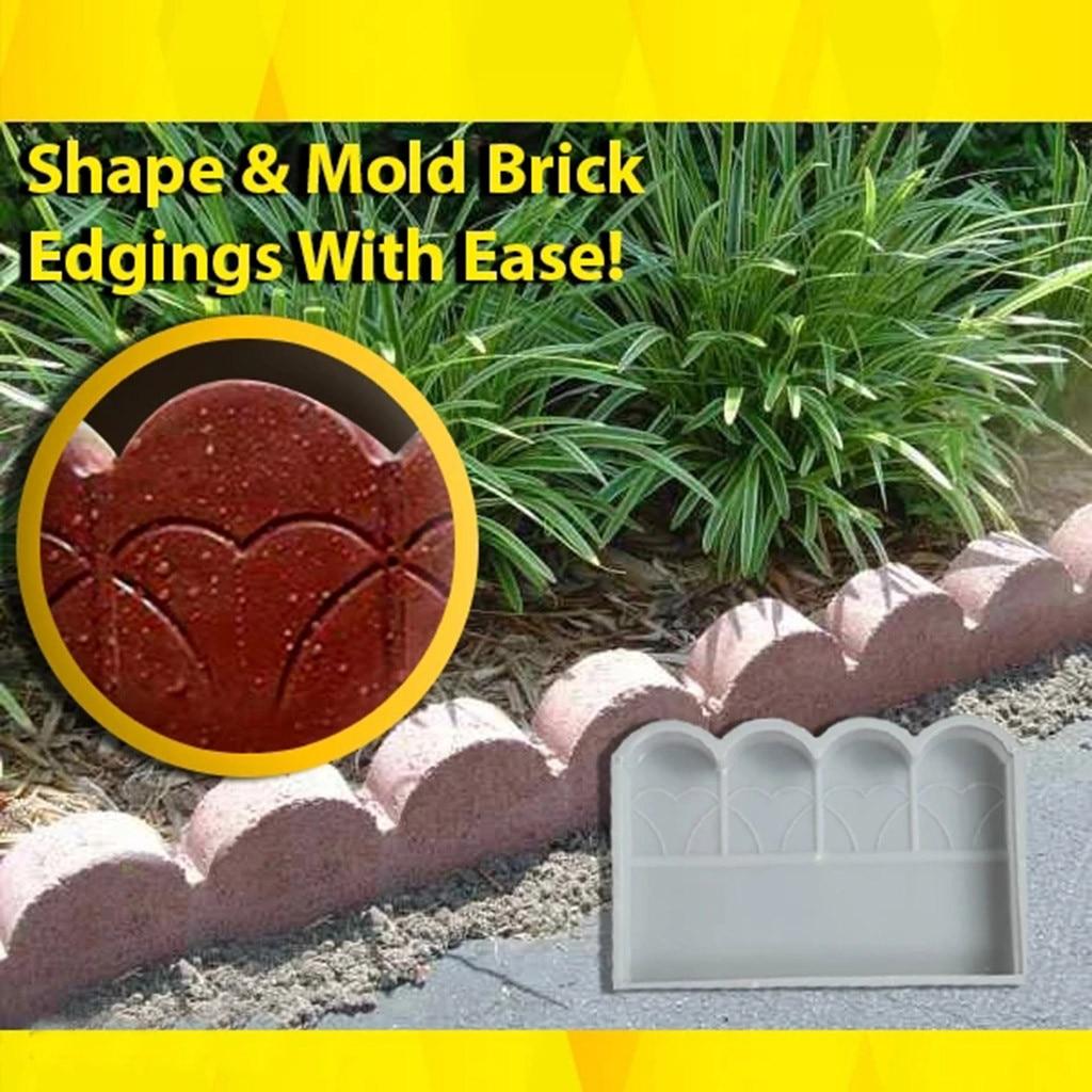 Moldes para decoración de jardín con diseño de ladrillos, moldes para caminos, moldes para Camino de piedras, accesorios #30