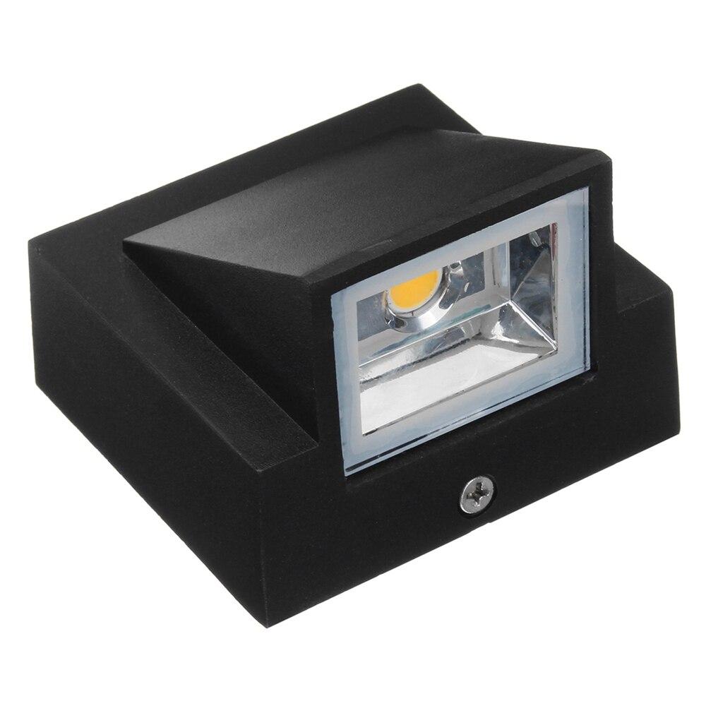 Diseño exquisito LED lámpara de pared de una sola cabeza 5W COB Porch Wall Sconce luz interior exterior paisaje iluminación AC110 220V