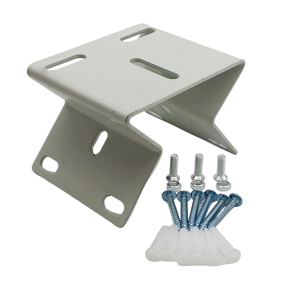 Металлический Железный внешний настенный угловой кронштейн под прямым углом 90 градусов, подставка-держатель для камеры видеонаблюдения