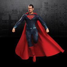 MEZC O figurines Superman ligue de Justice Batman vs Superman aube de la Justice Henry Cavill 1/12 échelle Figure 15cm