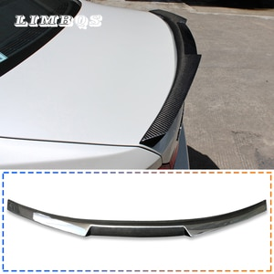 Spoilers for f10 f11 100% real carbon fiber tail spoilers wing for BMW 5 series rear spoiler M style back trunk wing decorations