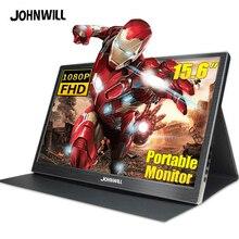 Monitor portátil de 15,6 ''4K lcd hd HDMI USB tipo C pantalla para PC portátil teléfono PS4-switch-XBOX 1080p gaming monitor ips pantalla
