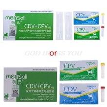 Pet köpek köpek sıcak CDV CPV Parvovirus algılama kağıt Test kartı Drop Shipping