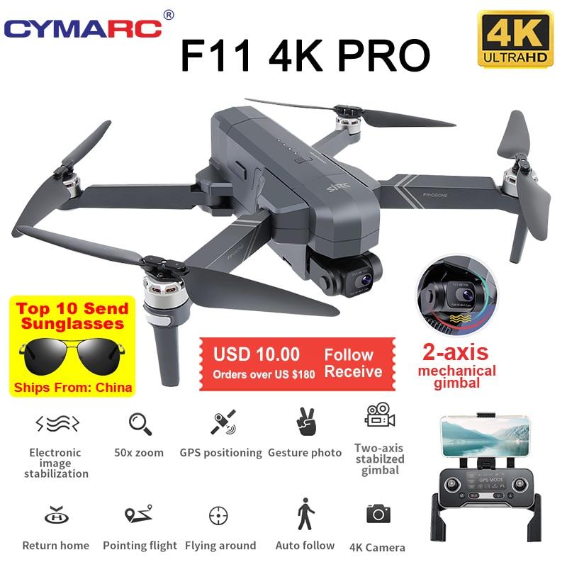 SJRC F11 Pro 4K GPS Дрон 5G Wi-Fi FPV HD камера 2 оси Gimbal 50X Zoom Профессиональный бесщеточный Квадрокоптер RC Дрон SG906 Pro 2 Max