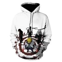 2021 new mens and womens hoodie 3d printing childrens cartoon anime sweatshirt pullover fashion hip hop jacket