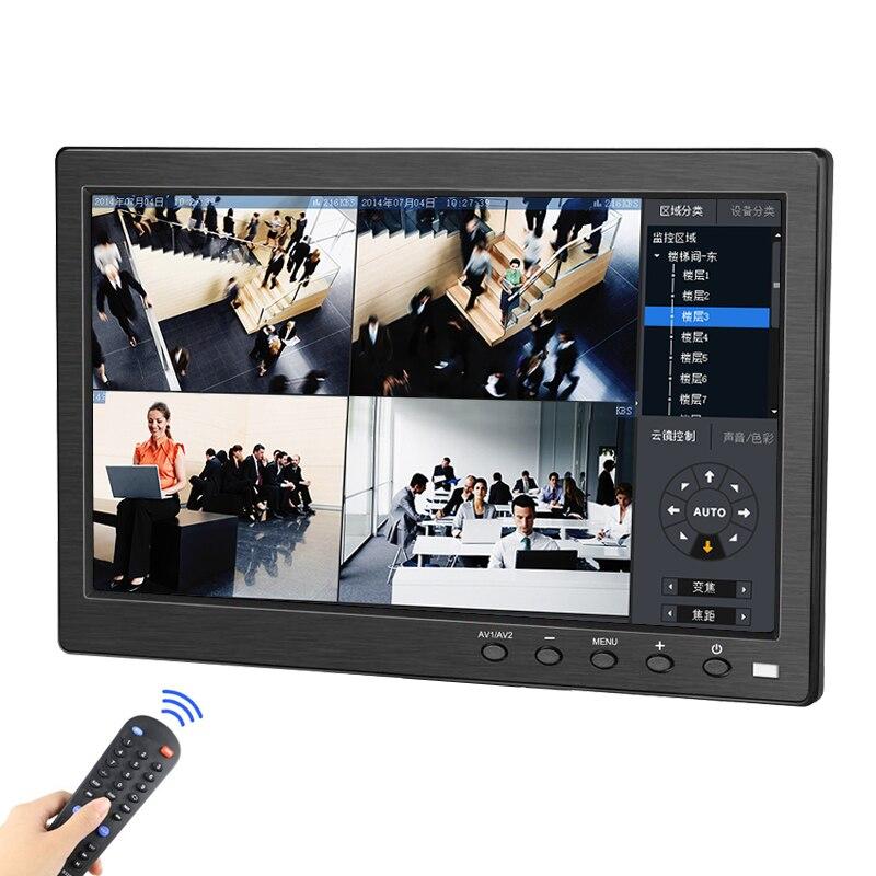 10.1 אינץ LCD נייד צג IPS HD תצוגת HDMI VGA משחקי צג עם Build-In רמקולים עבור Xbox360 פטל pi PS3/PS4