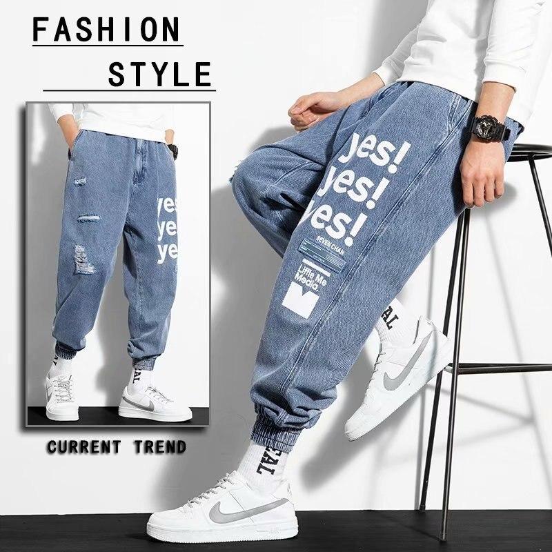 Брюки-карго мужские с эластичным поясом, уличная одежда, джоггеры, брюки-султанки, повседневные штаны в стиле хип-хоп