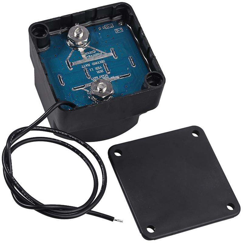 دائم المزدوج بطارية المعزل عدة 12 فولت 140A الجهد الحساسة التتابع لسيارة RV