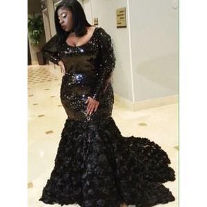 Evening Prom Celebrity Dresses 2021 Woman's Party Night Cocktail Long Mermaid Dresses Plus Size Dubai Arabic Formal Dress