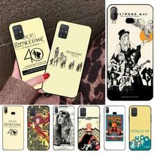 Picturales Fleetwood Mac affiche étui de téléphone pour Samsung A10 A20 A30 A40 A50 A70 A80 A71 A91 A51 A6 A8 2018