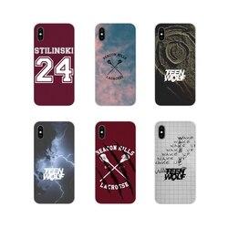 Acessórios Casos de Telefone Cobre Para Samsung A10 A30 A40 A50 A60 A70 M30 Galaxy Note 2 3 4 5 8 9 10 MAIS Incrível de Teen Wolf