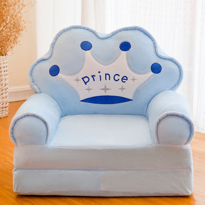 Children Folding Small Sofa Bed Nap Cartoon Cute Lazy Lying Seat Stool Removable and Washable Kids Sofa Kids Chair
