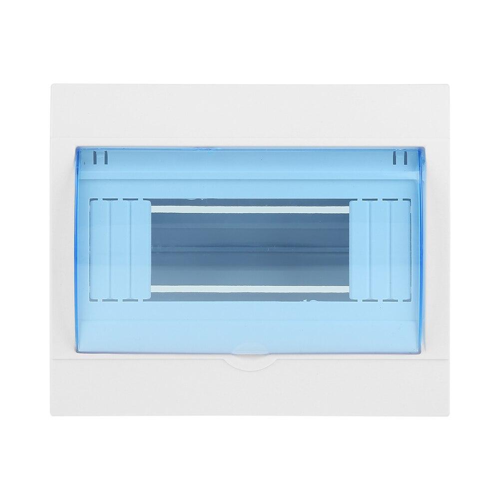 Boîte de Protection de Distribution en plastique 1 pièce   Pour disjoncteur à lintérieur sur le mur, couvercle Transparent électrique 5 à 8 voies