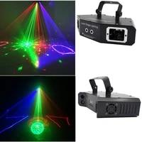free mail 4 in 1 4 hole laser disco laser rgb full color beam dj effect projector scanner laser stage lighting