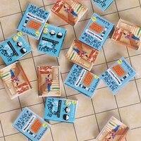 1Pc 1 12 Dollhouse Accessories Comic Book Mini Model Blank Page Book Model Toys