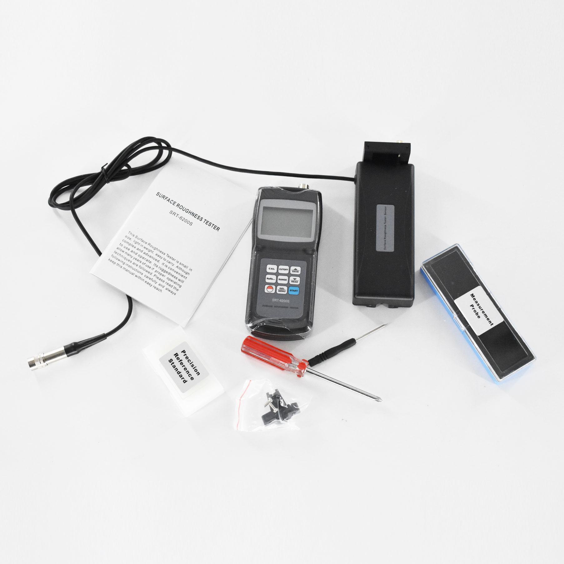 مقياس خشونة السطح المتطور للغاية SRT-6200S يستخدم على نطاق واسع في الأجزاء المصنعة للآلات