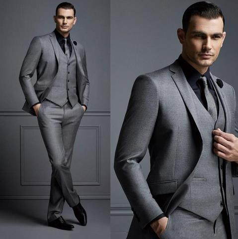 Classic Men Smoking Suit Jacket Groom Tuxedos Slim Groom Suit Party Double Breasted Winter Shawl Lap