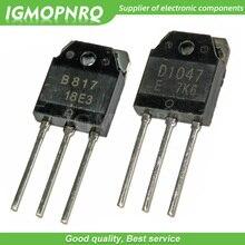 10 paires 2SD1047 & 2SB817 (D1047 & B817) Transistors TO-3P nouveau Original livraison gratuite
