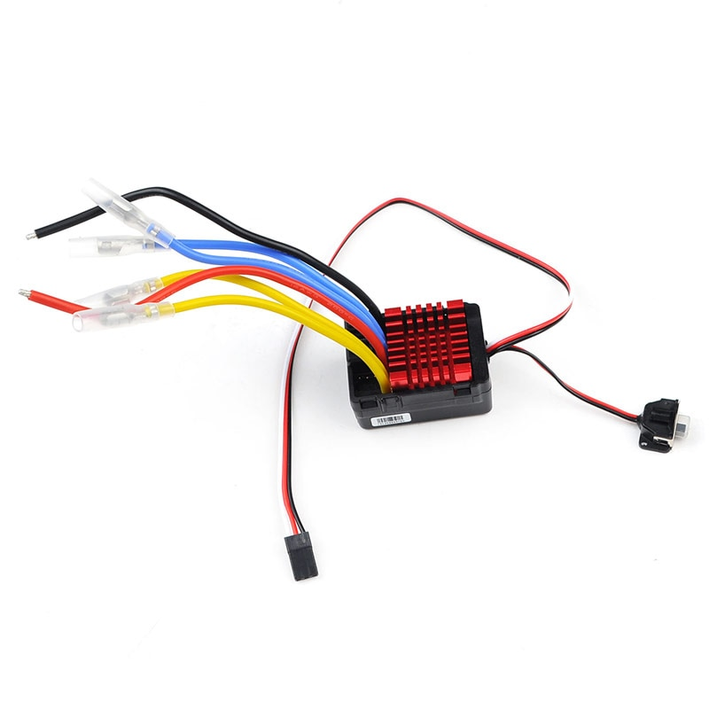 RC Car Hobbywing QuicRun WP-880 80A Dual Brushed Waterproof ESC Electronic Speed Controller for 1/8 1/10 Crawler Car Truck enlarge