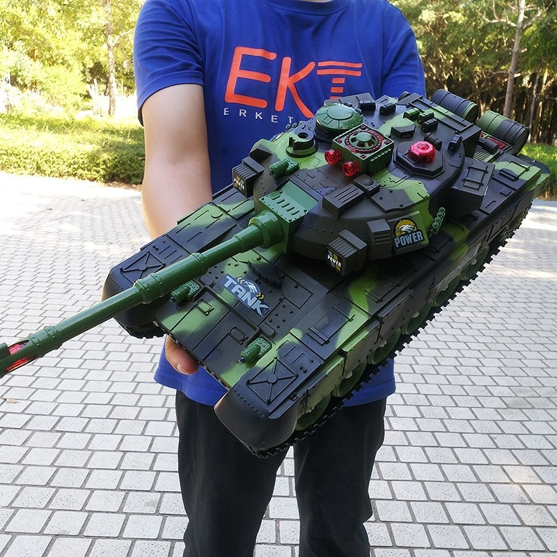 Remote Control Tanks Launch Cross-country Tracked Vehicle Toys for Kids Rc Tank  Tanks