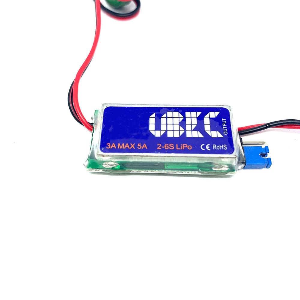 5V / 6V RC UBEC 3A Max 5A Lowest RF Noise BEC Full Shielding Antijamming Switching Regulator