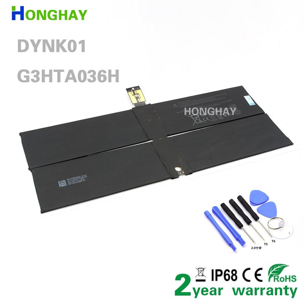 هونغاي G3HTA036H DYNK01 بطارية الكمبيوتر المحمول لمايكروسوفت سطح كتاب 1769 سلسلة 7.57 فولت 45.2Wh/5970mAh مع أدوات