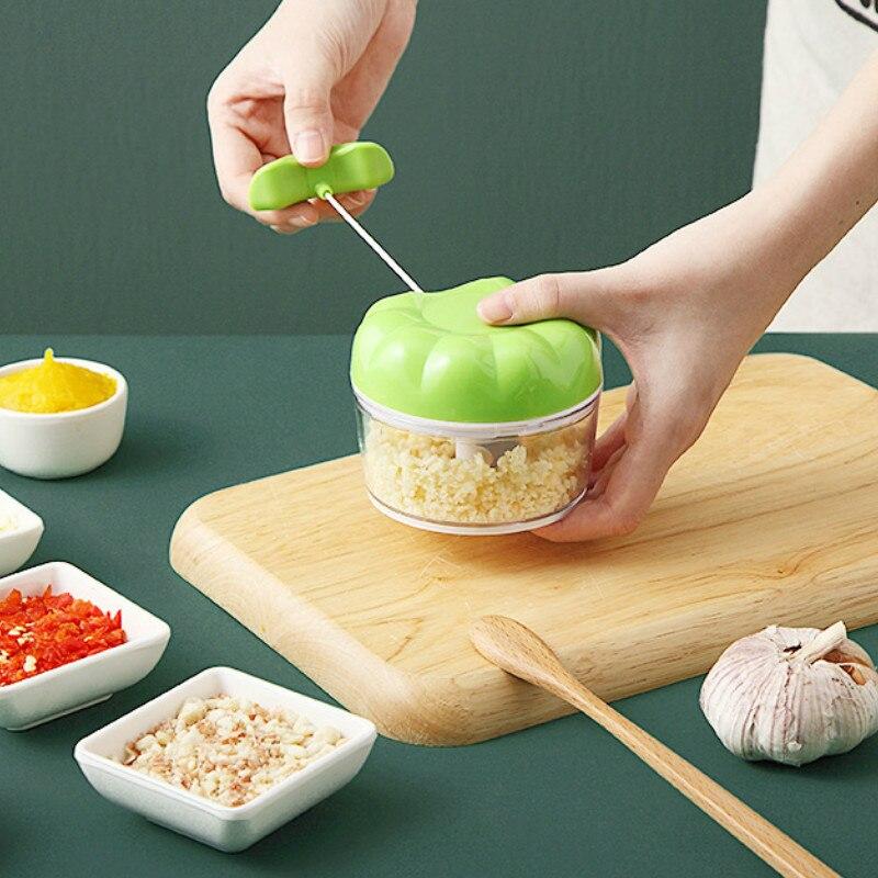 Prensa Manual multifuncin para ajo... picadora de alimentos y verduras... picadora de...