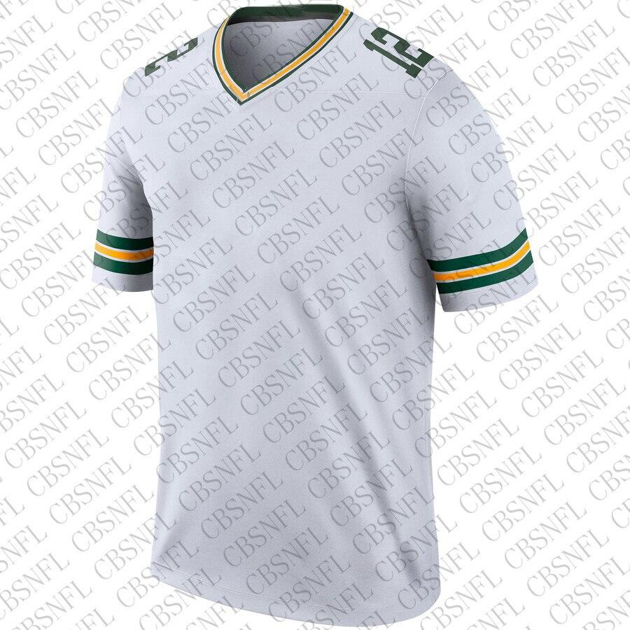 Masculino brett favre 4 aaron jones 32 camisa de cor de futebol americano alexander paul hornung 5 matthews 52 camisa de baía verde