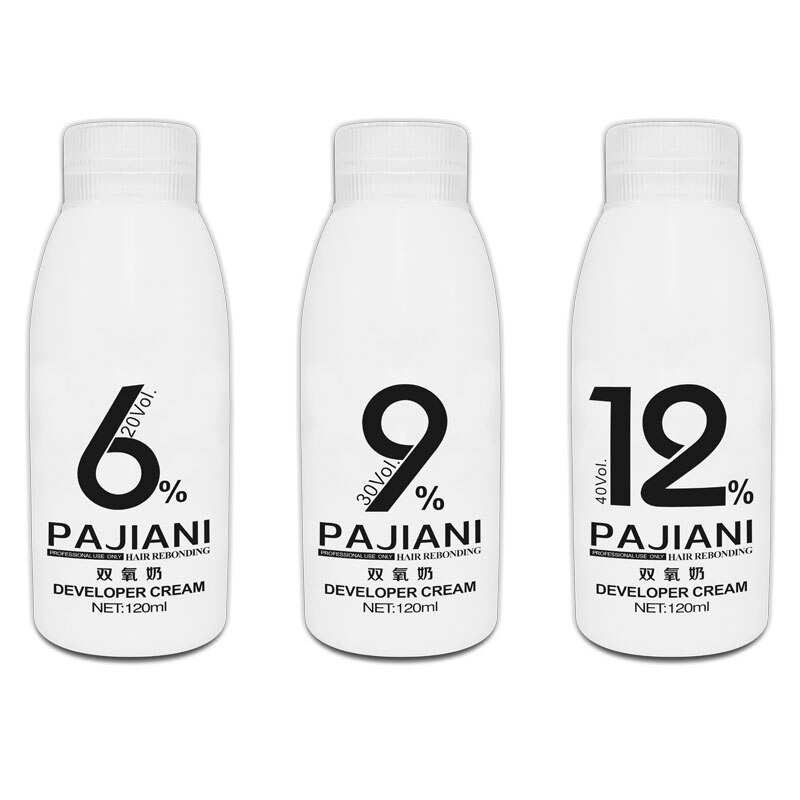Dioxygen Milk Hair Color Cream Bleaching Powder Creme Developer Odorless H2o2 Oxidant 20vol 30vol 40 Vol 100ml