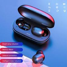 Trèfle dabeille A6X TWS Bluetooth écouteur sans fil dans loreille écouteurs Sport casque BT 5.0 avec 280mAh boîte de charge pour IOS Android d40