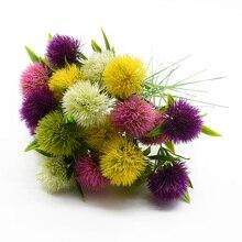 Vases en plastique pissenlit 5 pièces   Produits ménagers pour décoration de maison, liquidation daccessoires de mariage, fleurs artificielles bon marché