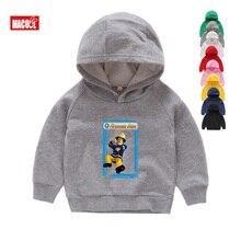 2019 Fireman Sam Printed Kids Costumes Hoodies Sweatshirts Coat Baby Boys Jumper Children Sweatshirts Girl Cartoon Hoodies 2T-8T