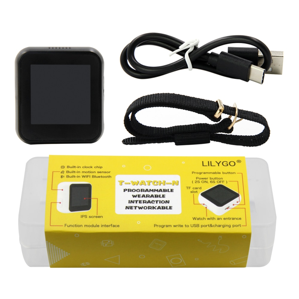 LILYGO®TTGO T-Watch ، بدون شاشة تعمل باللمس ، إصدار TTP223 ، زر لمس قابل للبرمجة ، تفاعلية بيئية ، ESP