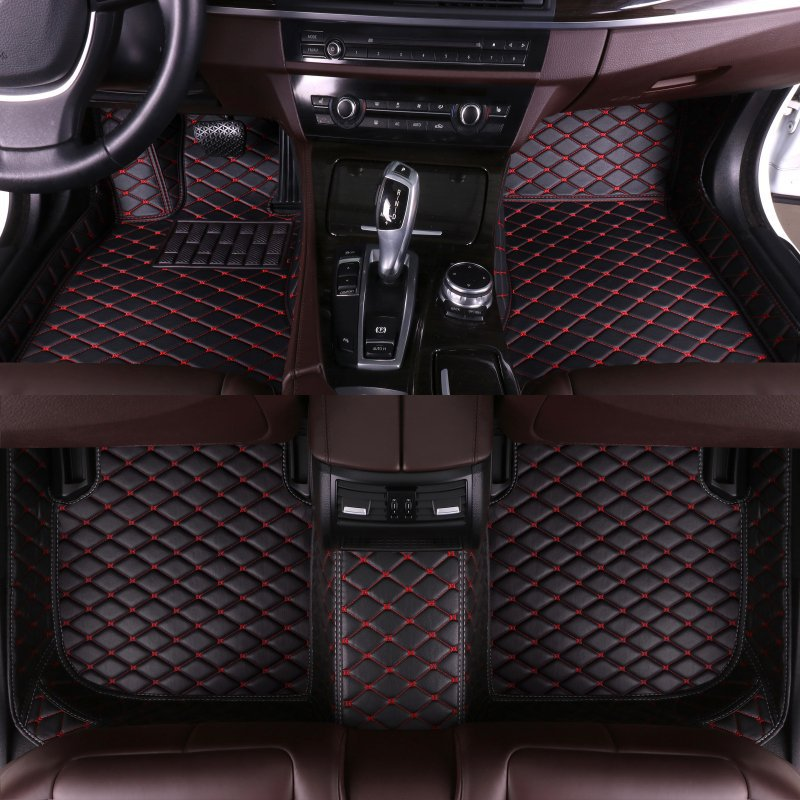 Custom Car Floor Mats for Porsche All Models Cayman Macan Cayenne Panamera Boxster 718 911 car accessories auto styling