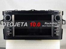 "OTOJETA 7 ""TOYOTA AURIS GPS 네비게이션 용 안드로이드 10.0 멀티미디어 비디오 플레이어 2din 카 라디오 터치 스크린 스테레오 헤드 유닛"