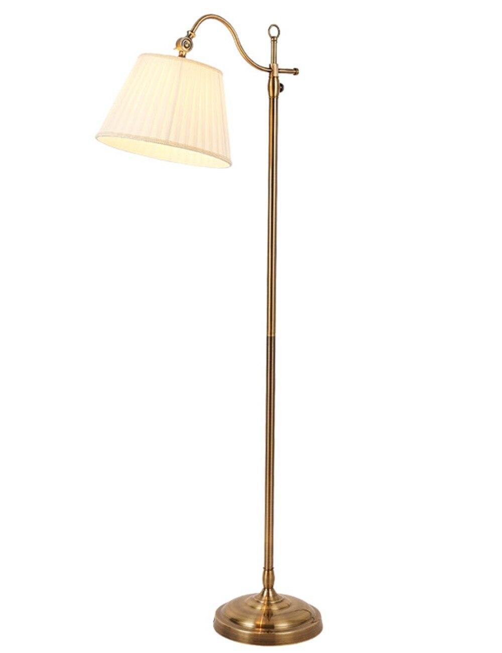 Moderna lámpara empotrada Industrial de Base pesada con sombra colgante con iluminación ambiental para lámpara LED de pie de interior