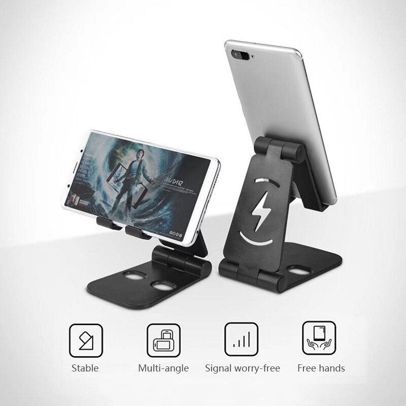 Soporte de mesa plegable para tableta de escritorio ABS extensible para teléfono...