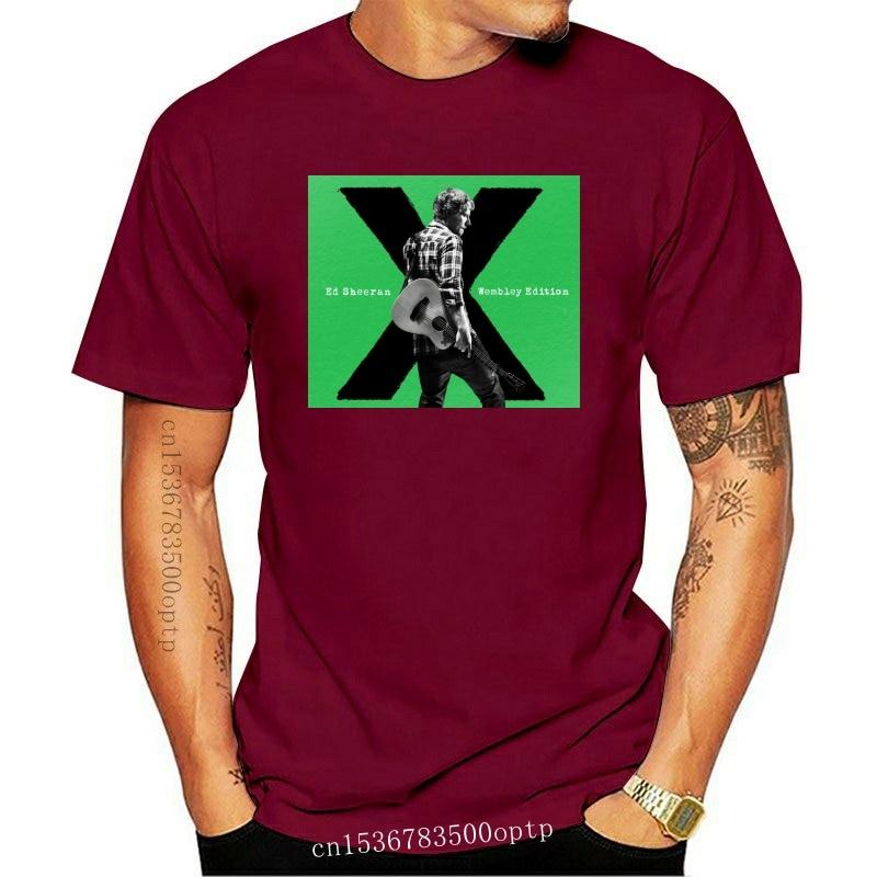 New Wembley Edition Ed Streetwear Harajuku 100%Cotton Men'S Tshirt Sheeran Tshirts